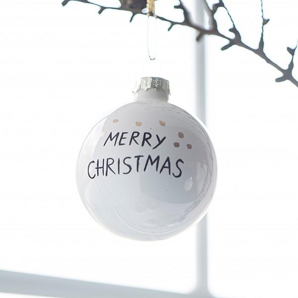 Julgranskula Merry Christmas