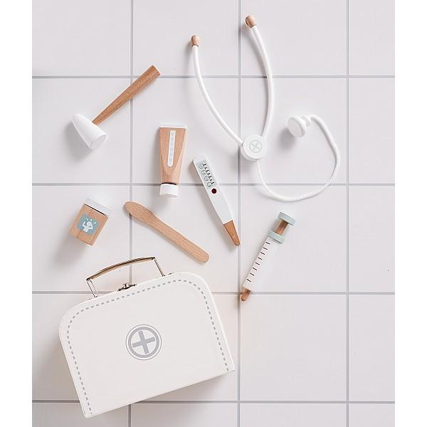 Kids Concept Doctors Bag Set - White