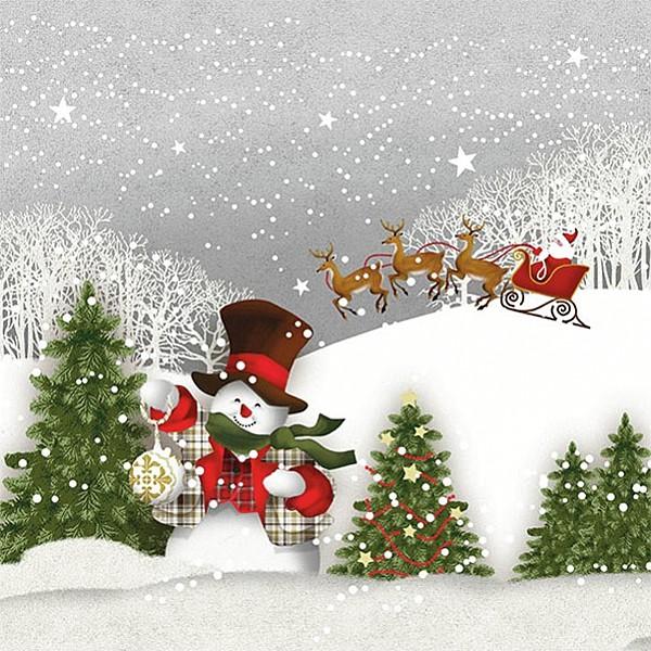 Servetter Happy Holidays