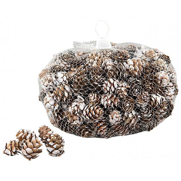 Lärkkottar 300 g - Natur/Vit