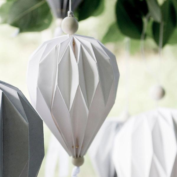 Pappballong Boviken Vit - Liten