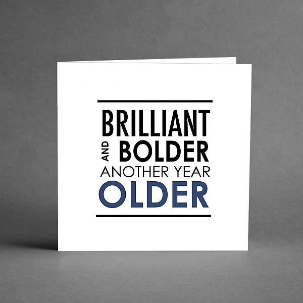 Kort Brilliant and bolder