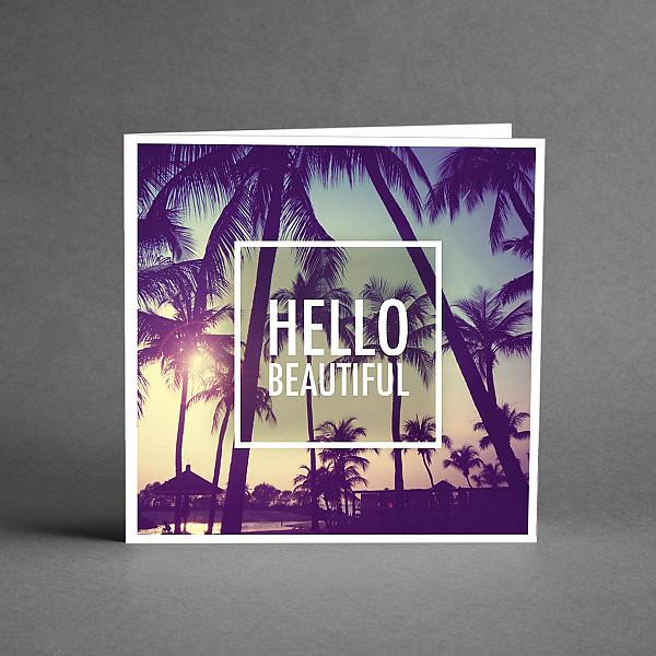 Kort Hello beautiful