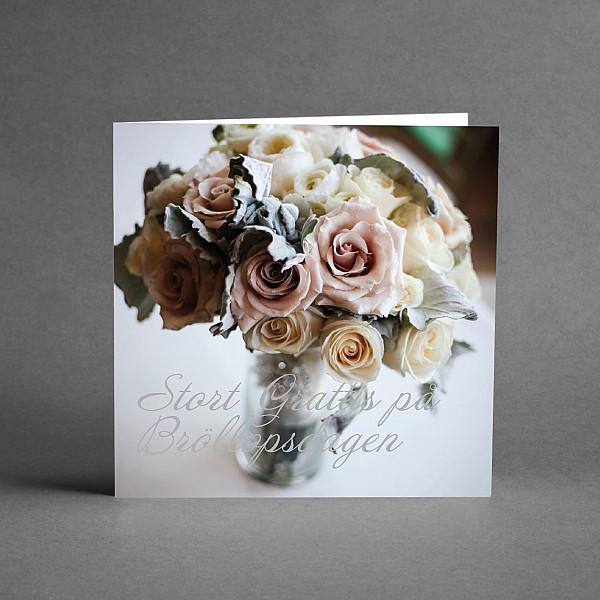 Kort Bröllopskort