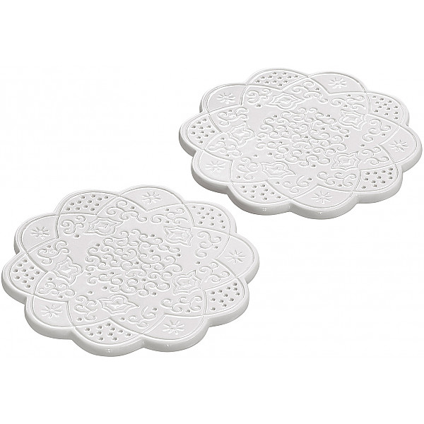 Coasters Orient - White