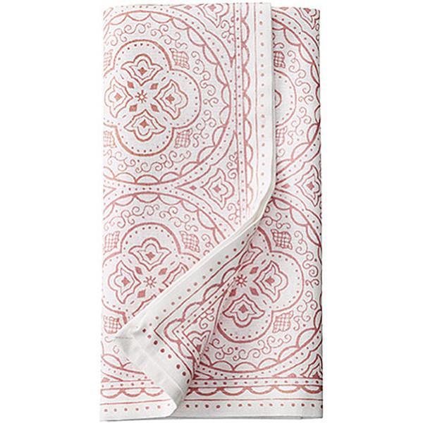 Cloth Napkin Orient 2-pack - White / Rosé