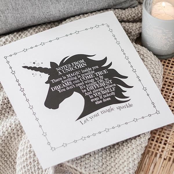Majas Print Unicorn