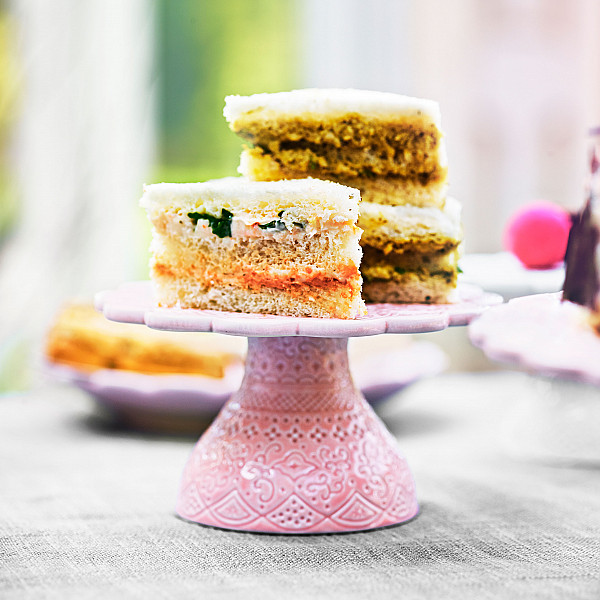 Small Cake Stand Orient - Rosé