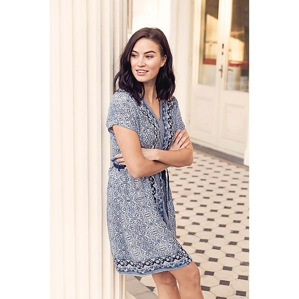 Klänning Emily Dress - Lavender Blue