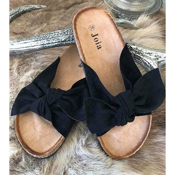 Sandaler med rosett Svart, Cat & Co | Mixin