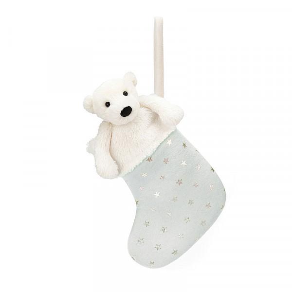 Jellycat Bashful Polar Bear Stocking