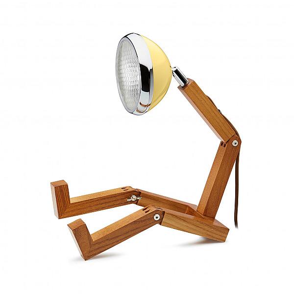 Mr. Wattson Lampa Light Yellow/Ljusgul