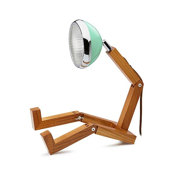 Mr. Wattson Lampa Tiffany Green/Grön