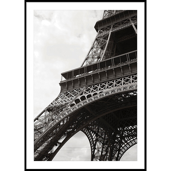 Poster Paris Eiffel Tower Close up
