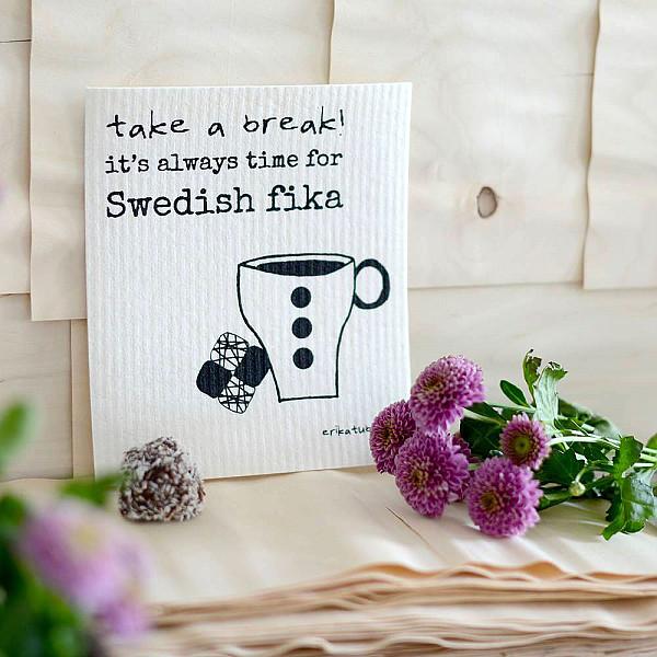 Disktrasa Swedish fika