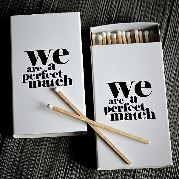 Matchbox We are a perfect match