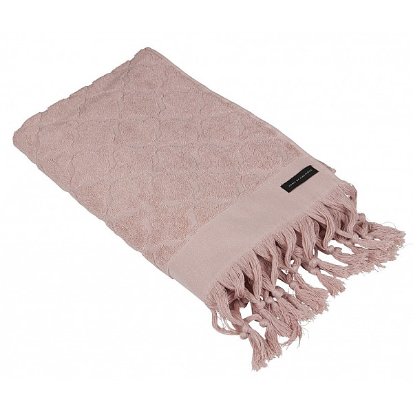 Handduk Miah 50 x 70 cm - Rosa