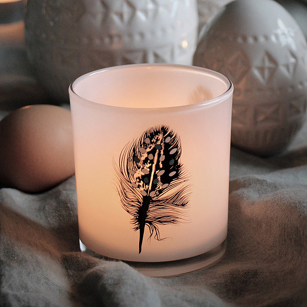 Majas Candle Holder Feather
