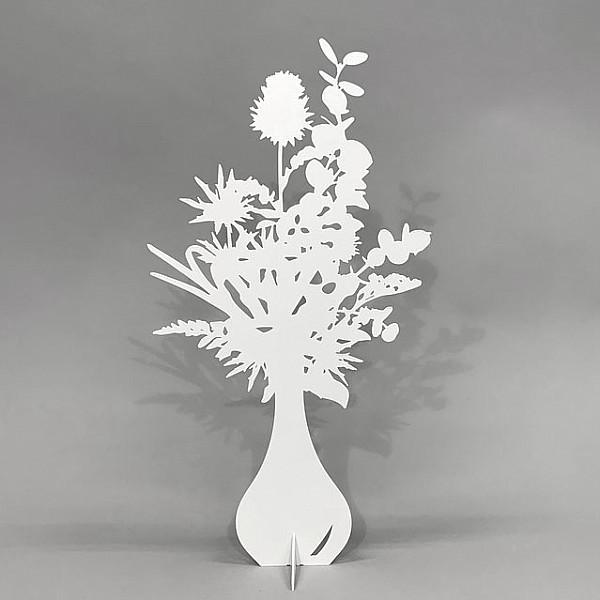 Blombukett Spira - Vit