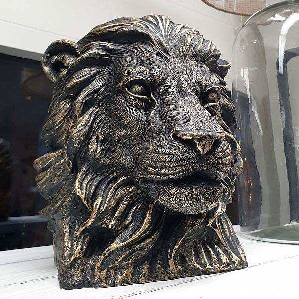 Kruka Lejon - Guldbrun