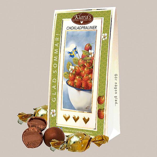 Chokladpraliner Glad Sommar