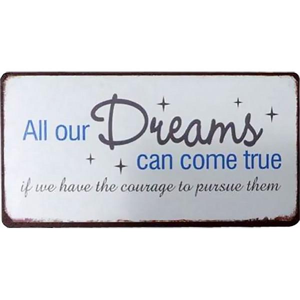 Magnet Alle unsere Träume können wahr werden