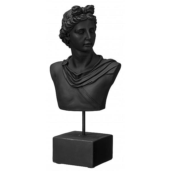 Staty/Byst Man - Svart