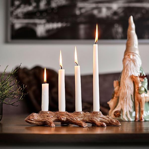Ljusstake Adventsgren