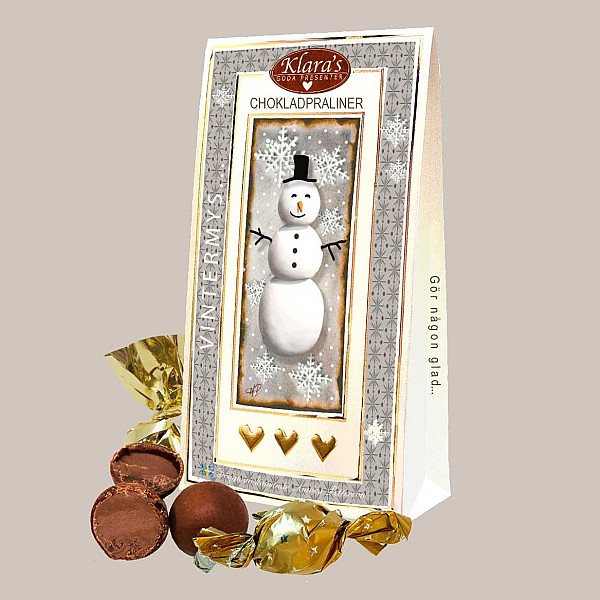 Chokladpraliner Vintermys