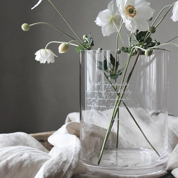 Majas Vase / Candle Holder Kärleksvisan