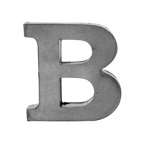 Zinc Letter B
