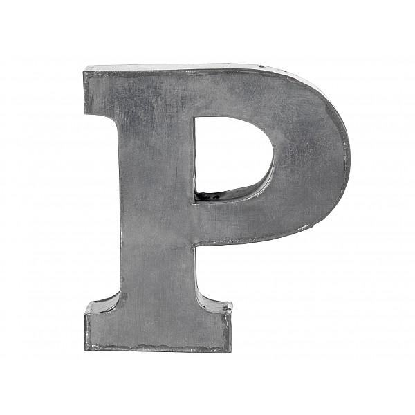 Zinkbokstav P