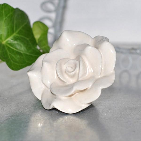 Porcelain Magnet Rose