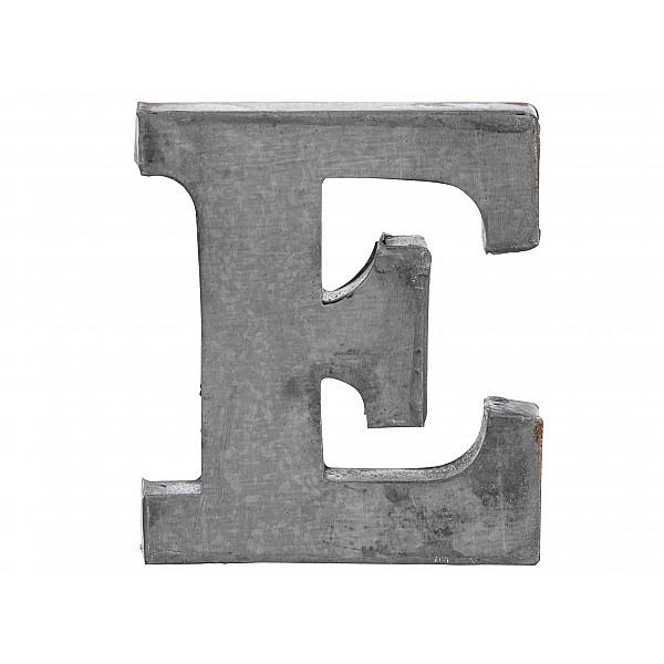 Zinc Letter E