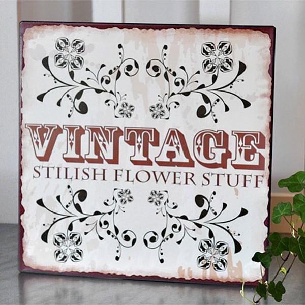 Tin Sign Vintage