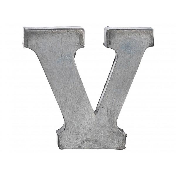 Zinc Letter V