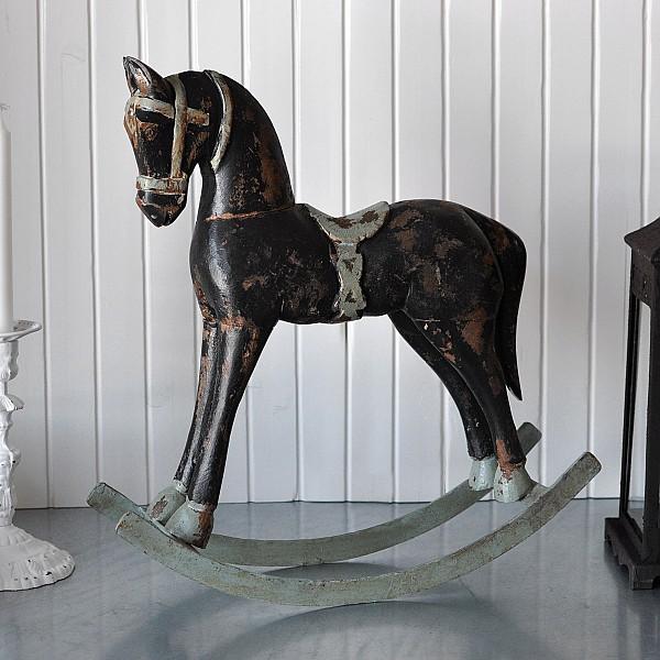 Rocking Horse TROJA Small - Black