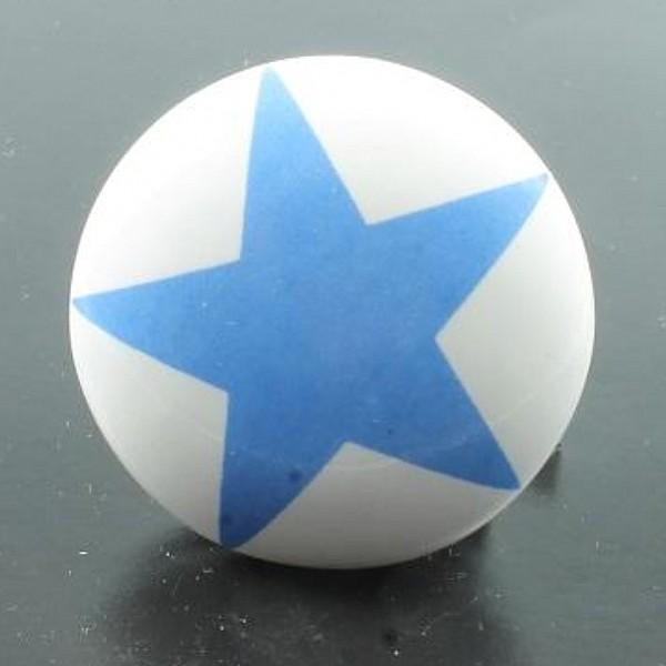 Knopp Stjärna - Blå