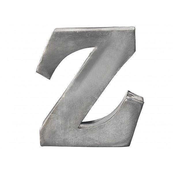Zinc Letter Z