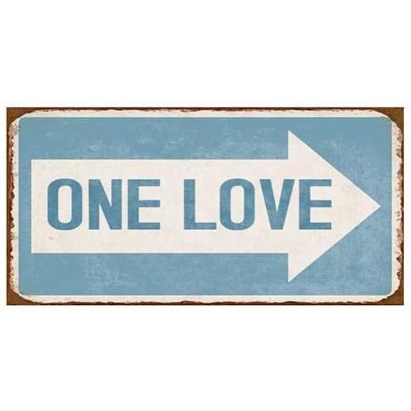 Magnet / Kylskåpsmagnet One Love