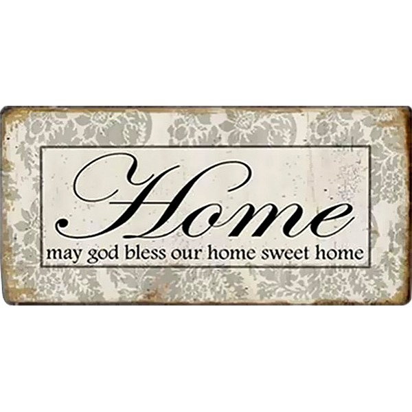 Magnet Home May god bless our home sweet home