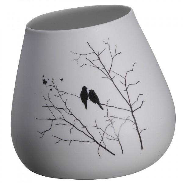 Lutande vas Fåglar - Höjd 9,5 cm