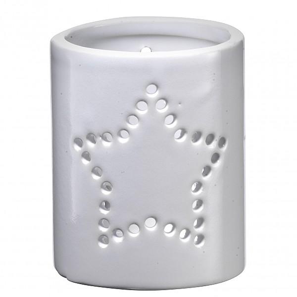 Ljuslykta i keramik Star