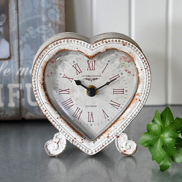 Bordsklocka Heart/Hjärtformad klocka