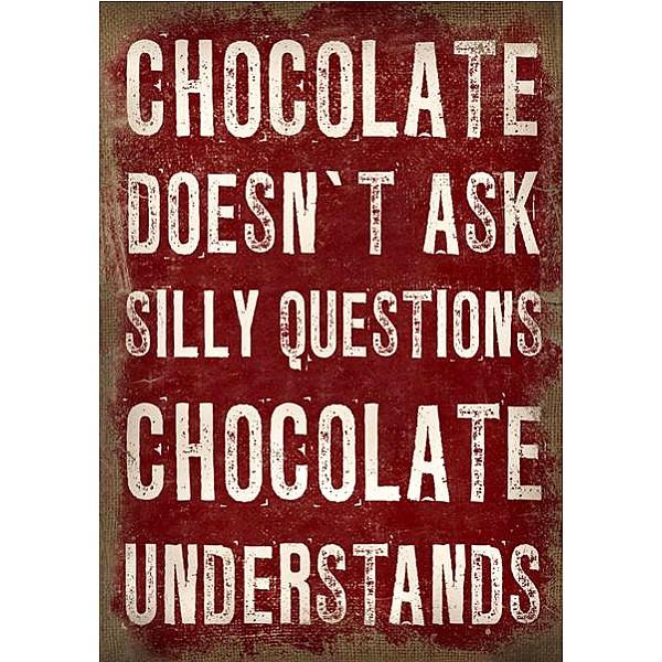 Canvastavla Chocolate understands