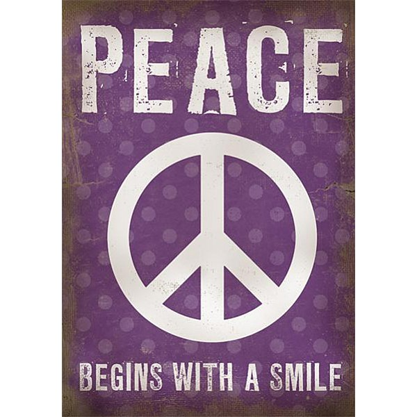 Canvas Peace begins with a smile