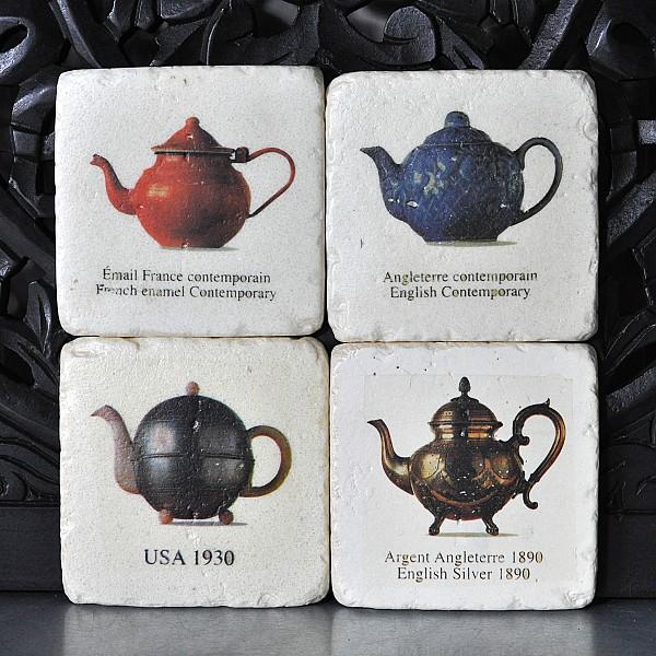Coasters Tea pots