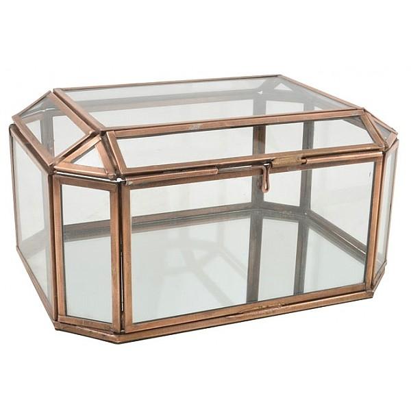Smyckesskrin Glas/Metall