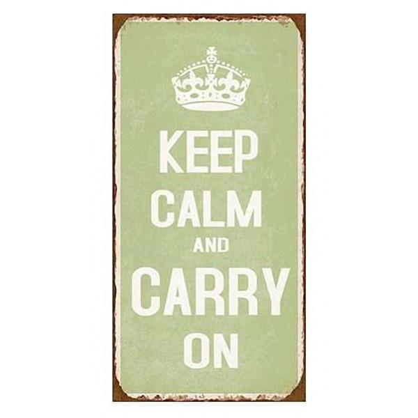 Magnet / Kylskåpsmagnet Keep calm and carry on