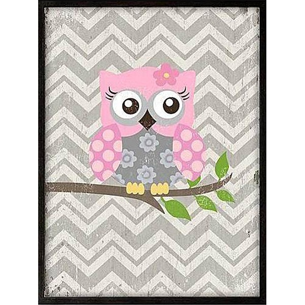 Framed Picture Owl